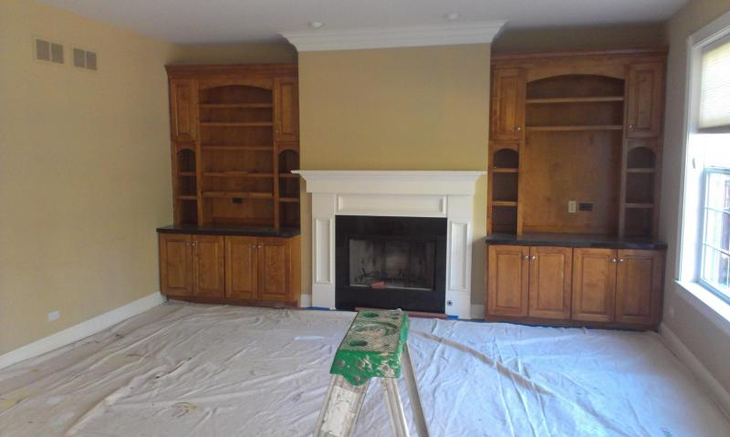 Cabinets - Before